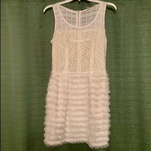 Rachel Roy White Lace Dress